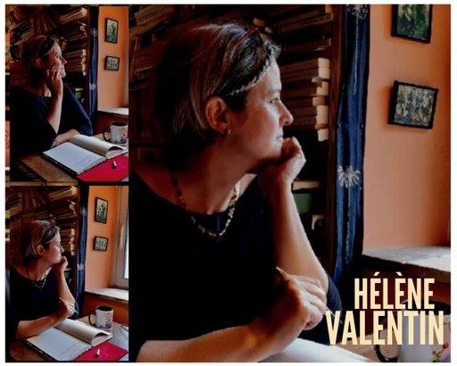 Photo de Hélène Valentin - atelier écriture peinture
